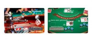 casino kartı, Gazino kazımalı kart, casino kazımalı kartı